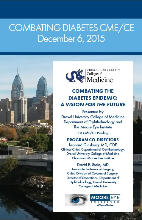 Register for Combating the Diabetes Epidemic: A Vision for the Future CME